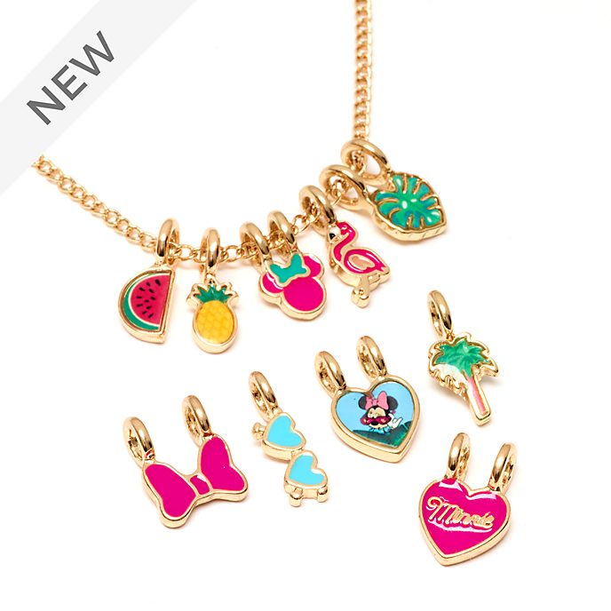 Disney Store Minnie Mouse Customisable Charm Necklace