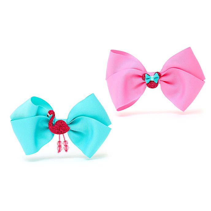 Disney Store Minnie Mouse Bow Hair Clips, Pack of 2