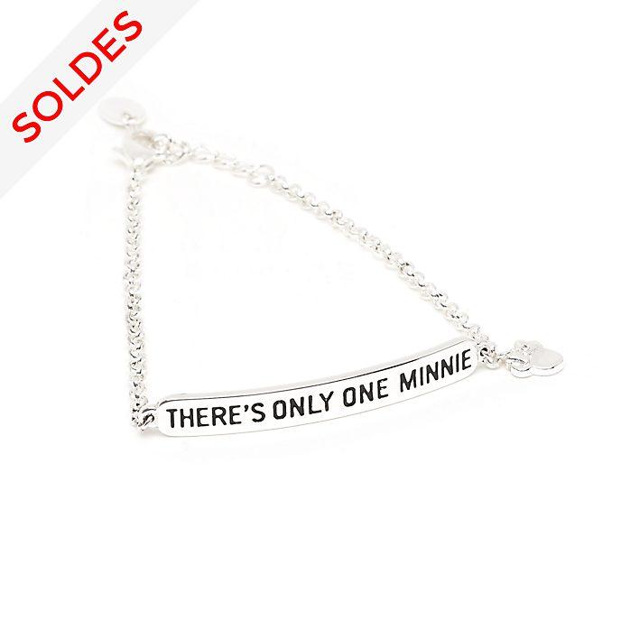Disney Store Bracelet citation plaqué argent Minnie