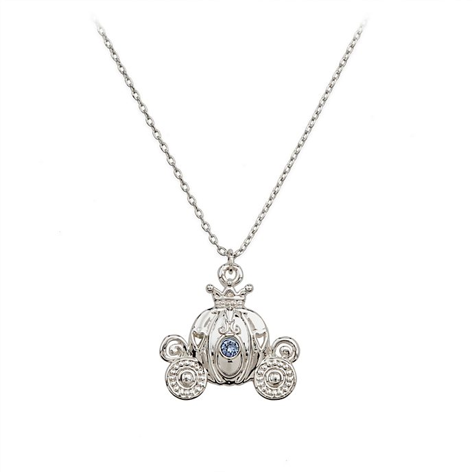 Disney Store Cinderella Necklace and Earrings Set