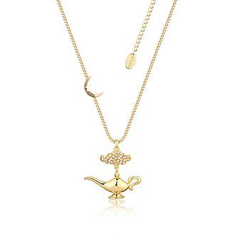 Collana placcata oro lampada magica, Aladdin Couture Kingdom