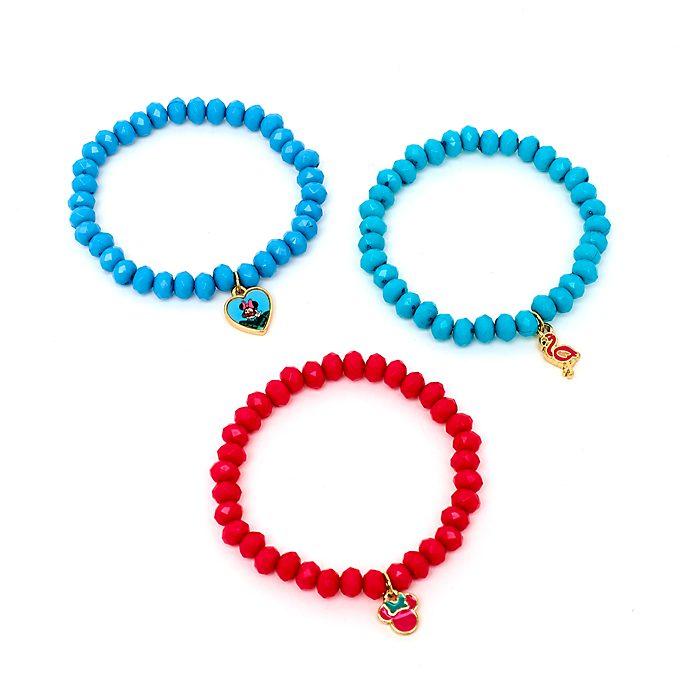 Disney Store Bracelets élastiques Minnie, Ensemble de 3