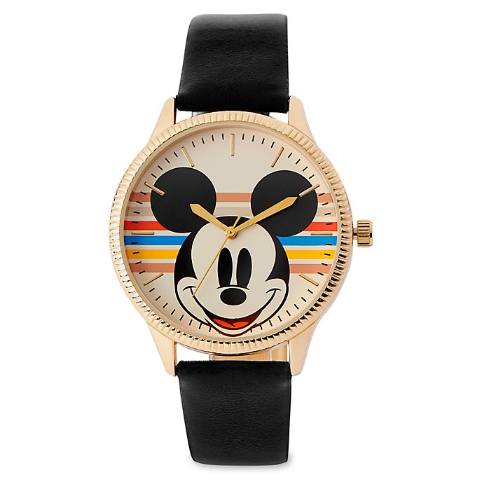 Disney Store Mickey Mouse Rainbow Watch