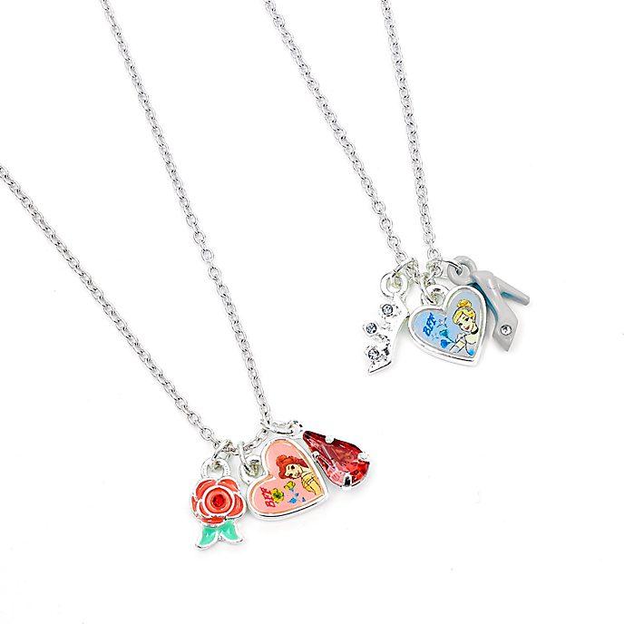 Disney Store Paire de colliers de l'amitié PrincessesDisney