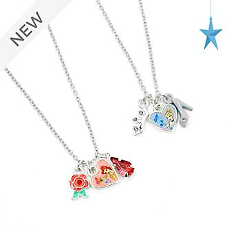 Disney Store Disney Princess Friendship Necklace Set