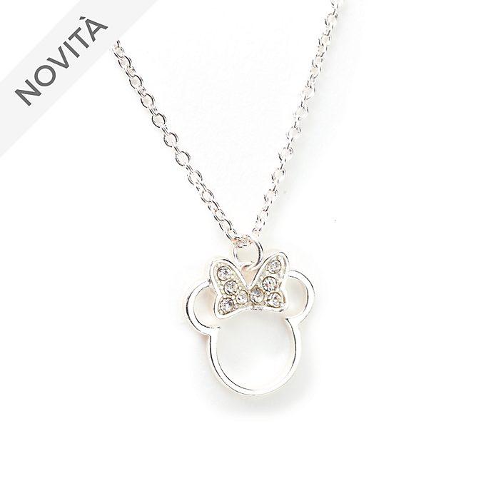 Collana placcata in argento Minni Disney Store
