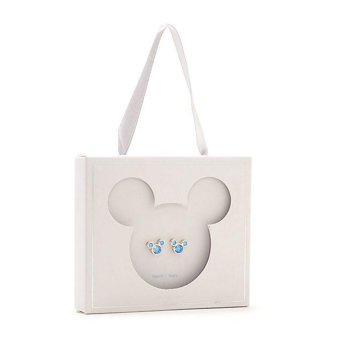 Disney Store Clous d'oreilles Mickey avec pierre de mars