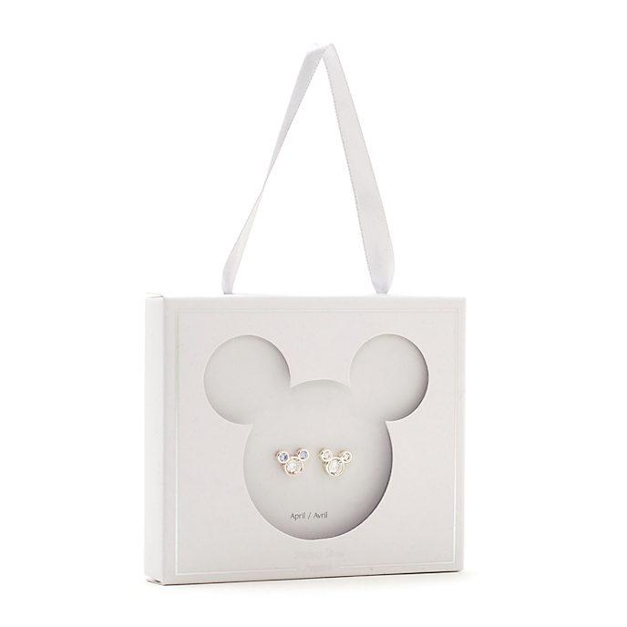 Disney Store Clous d'oreilles Mickey avec pierre d'avril