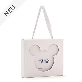 Disney Store - Micky Maus - Geburtsstein-Ohrstecker, September
