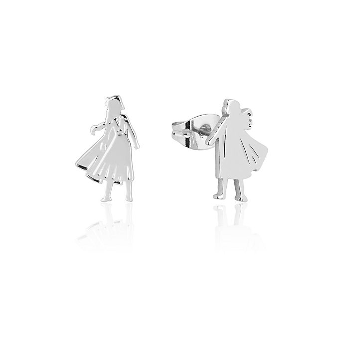 Couture Kingdom Anna and Elsa Stud Earrings