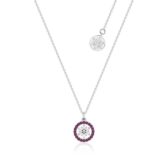 Couture Kingdom Frozen 2 February Birthstone Necklace
