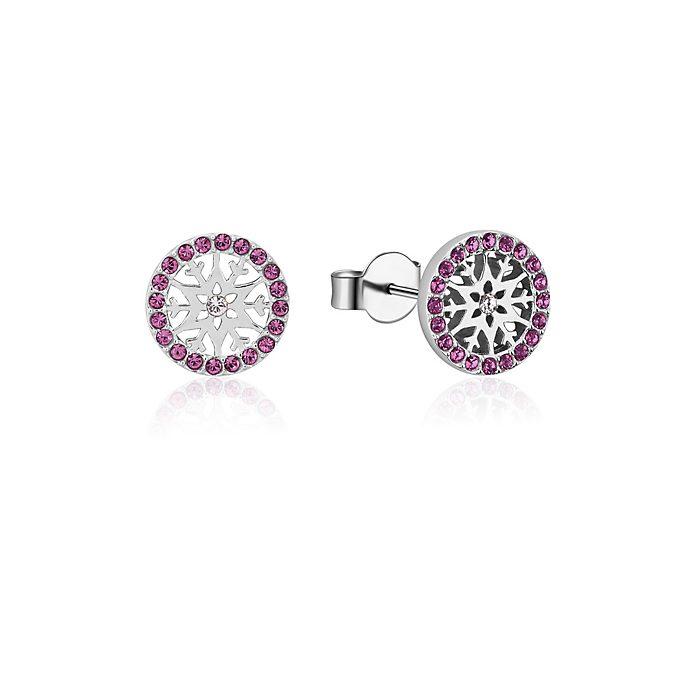 Couture Kingdom Frozen 2 February Birthstone Stud Earrings