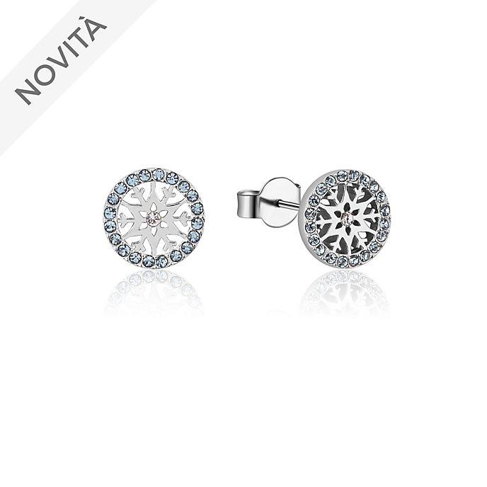 Orecchini a bottone con pietra del mese di marzo Frozen 2: Il Segreto di Arendelle Couture Kingdom