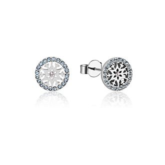 Couture Kingdom Frozen 2 March Birthstone Stud Earrings