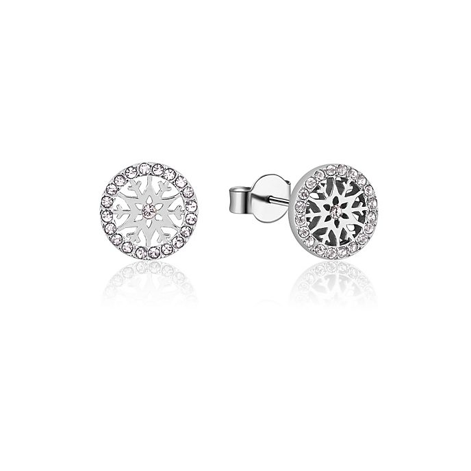 Couture Kingdom Frozen 2 April Birthstone Stud Earrings