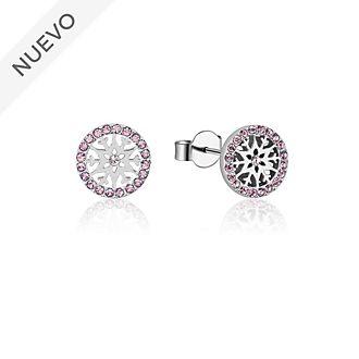 Pendientes de botón de piedra natal, junio, Frozen2, Couture Kingdom