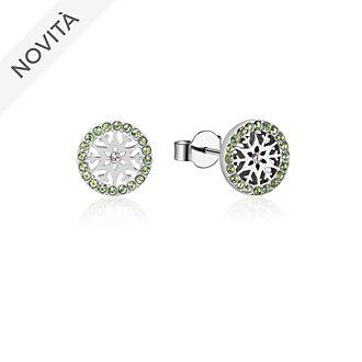 Orecchini a bottone con pietra del mese di agosto Frozen 2: Il Segreto di Arendelle Couture Kingdom
