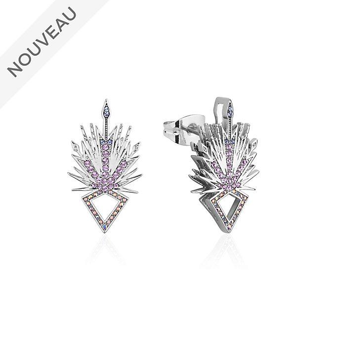 Couture Kingdom Clous d'oreilles Cristaux de glace Elsa, La Reine des Neiges2