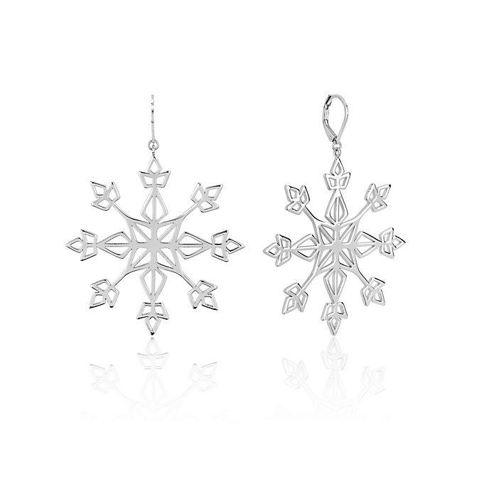 Couture Kingdom Snowflake Statement Drop Earrings, Frozen 2