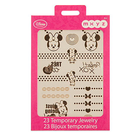 Minnie Mouse MXZY Temporary Metallic Skin Jewellery