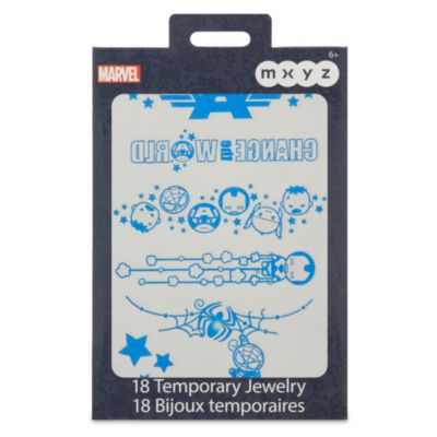 Marvel MXZY Temporary Metallic Skin Jewellery