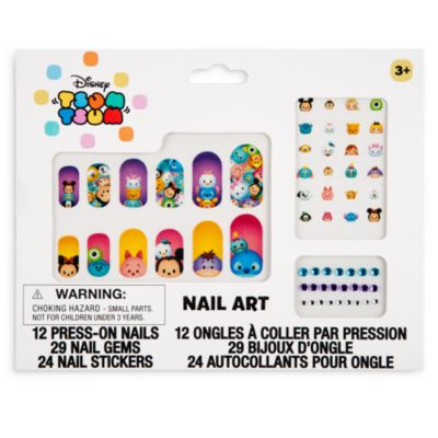 Set decoración uñas Tsum Tsum