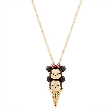 Micky und Minnie Maus - Disney Tsum Tsum Halskette mit Eismotiv