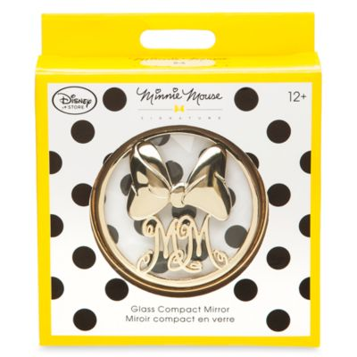 Minnie Mouse Signature Compact Mirror