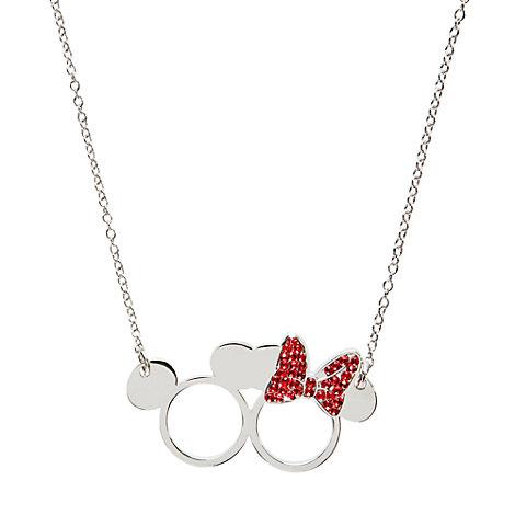 Mickey og Minnie Mouse halskæde