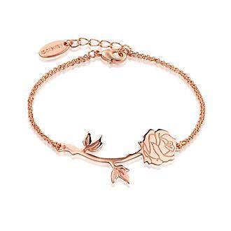 Pulsera chapada en oro rosa de La Bella y la Bestia, Disney Couture