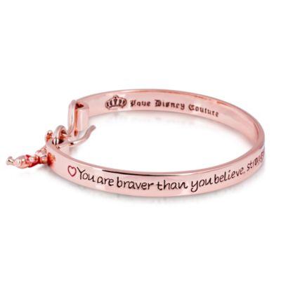 Bracelet en plaqué or rose Winnie l'Ourson Disney Couture