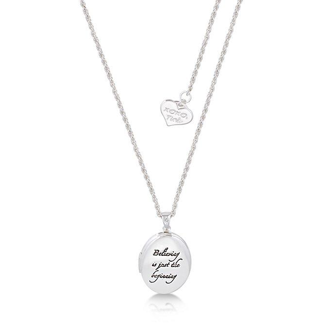 Couture Kingdom - Tinkerbell - mit Weißgold plattierte Halskette mit Medaillon