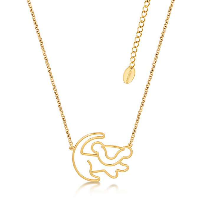 Couture Kingdom Simba Gold-Plated Necklace, The Lion King