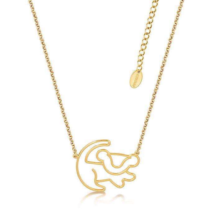 Couture Kingdom - Der König der Löwen - Simba - Vergoldete Halskette