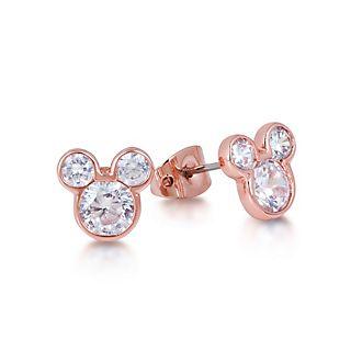 Orecchini placcati oro rosa Couture Kingdom, Topolino