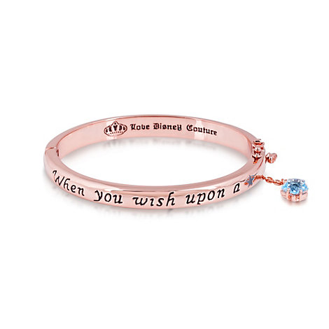 Couture Kingdom Rose Gold-Plated Bangle, Pinocchio