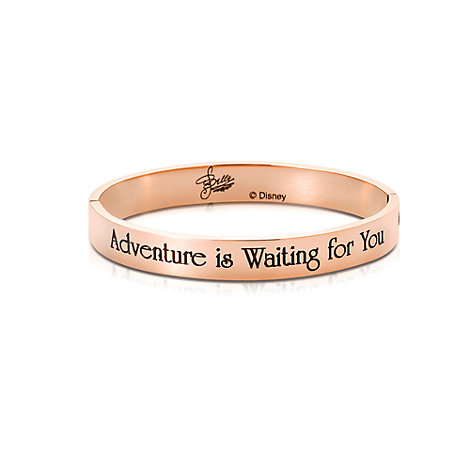 Couture Kingdom Rose Gold-Plated Bangle, Belle