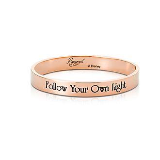 Bracelet Raiponce plaqué en or rose, collection Couture Kingdom
