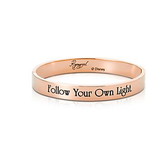 Couture Kingdom Rose Gold-Plated Bangle, Rapunzel