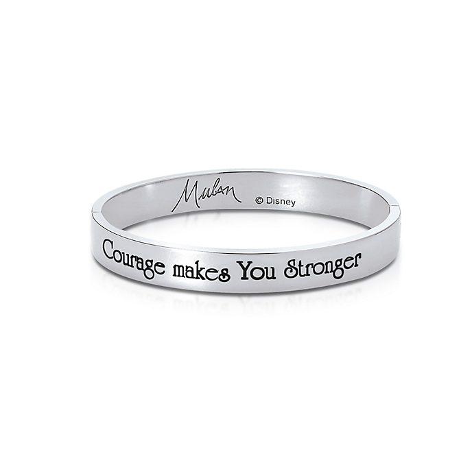 Bracelet Mulan plaqué en or blanc, collection Couture Kingdom