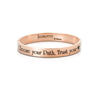 Bracciale placcato oro rosa Couture Kingdom, Pocahontas