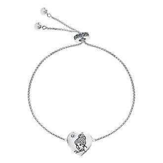 Cinderella - Versilbertes Armband mit Schiebeperle