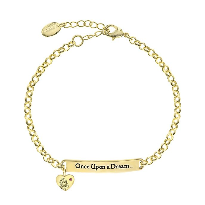 Sleeping Beauty Gold-Plated Quote Bracelet