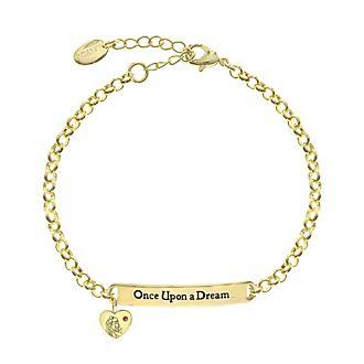 Dornröschen - Vergoldetes Armband mit Zitat