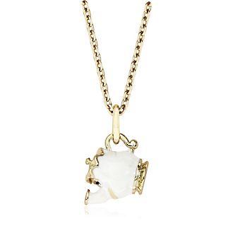 Madame Pottine - Vergoldete Halskette - Die Schöne und das Biest