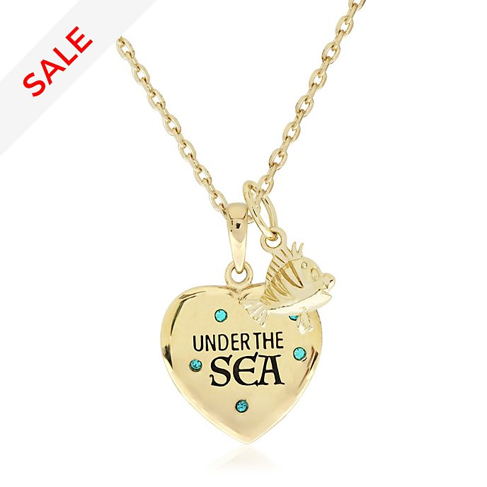 Under the Sea Gold-Plated Necklace, The Little Mermaid