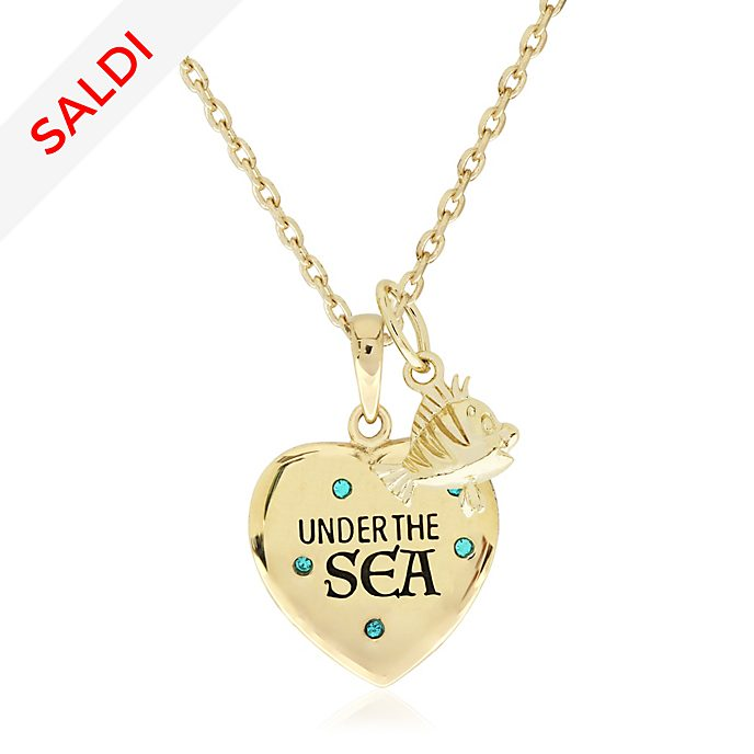 Collana In Fondo al Mar placcata oro La Sirenetta
