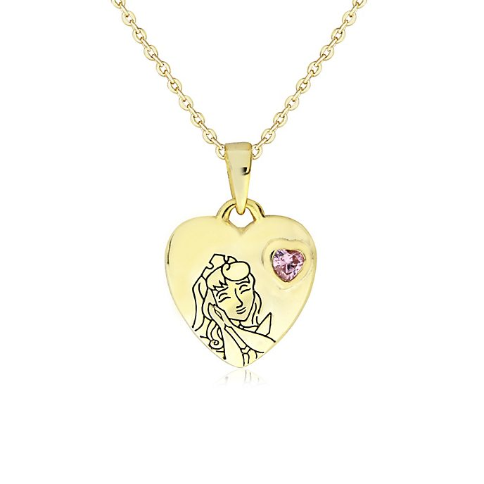Sleeping Beauty Gold-Plated Locket