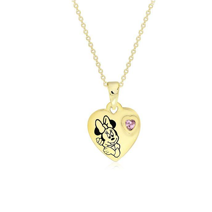 Minnie Maus - Vergoldetes Medaillon