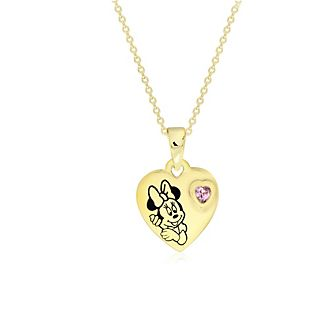 Minnie Mouse Gold-Plated Locket